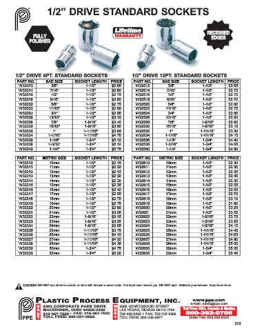 Page 313 - Plastic Process Equipment, Inc